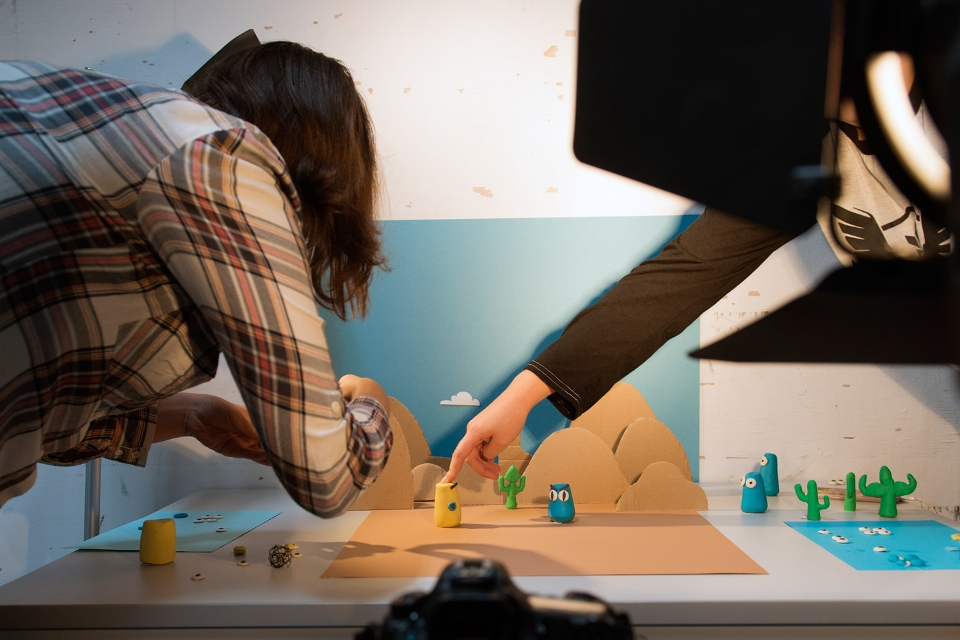 Workshop Stop Motion Illustratie|Animatie